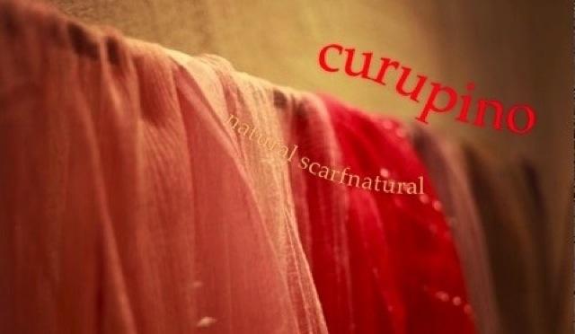 ナチュラルスカーフ curupino