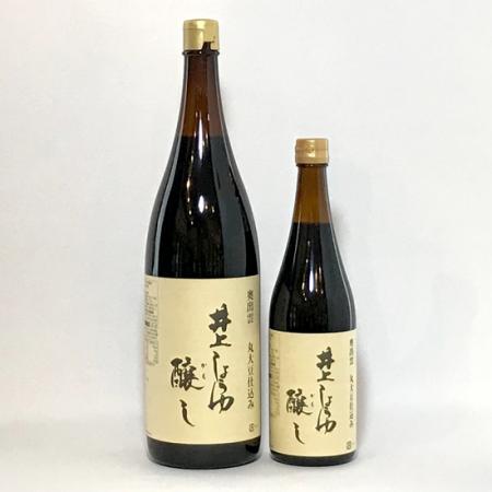 井上しょうゆ 醸し /井上醤油店 1.8L(左)