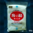 自然海塩 海の精 あらしお(赤ラベル)500g
