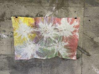 染め絞り和紙