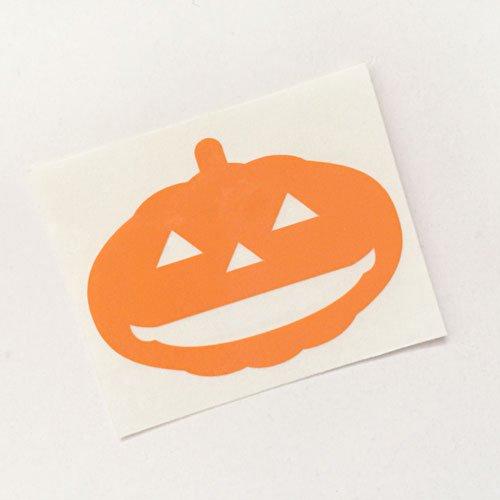 かぼちゃ2ステッカー H36×W50mm ハロウィンイベント デカール デコシール 文字シール 切文字