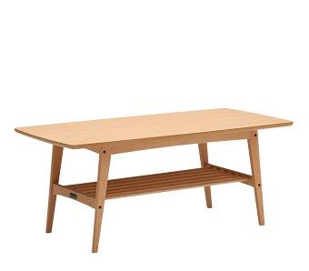 カリモク60 リビングテーブルL ピュアビーチ