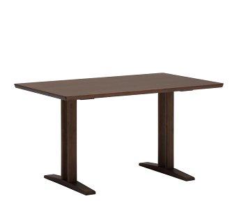 カリモク60+ ダイニングテーブルT 1300(2本脚) モカブラウン色