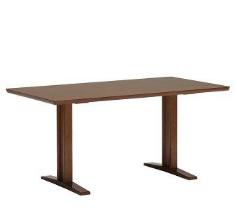 カリモク60+ ダイニングテーブルT 1500(2本脚) ウォールナット色