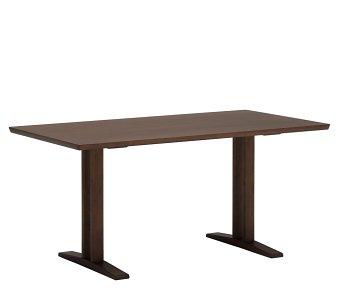 カリモク60+ ダイニングテーブルT 1500(2本脚) モカブラウン色