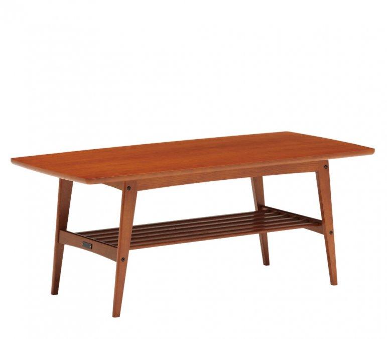 カリモク60 リビングテーブル L ヴィンテージチーク