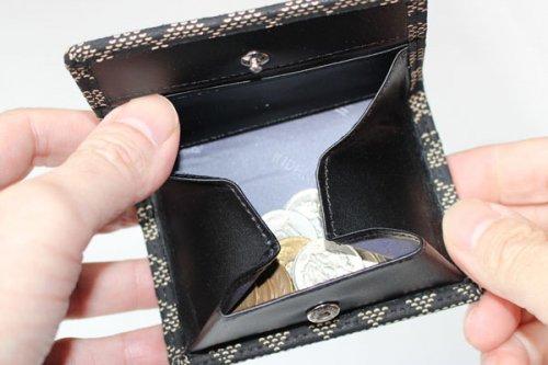 印傳屋【印伝】の小銭入れ財布