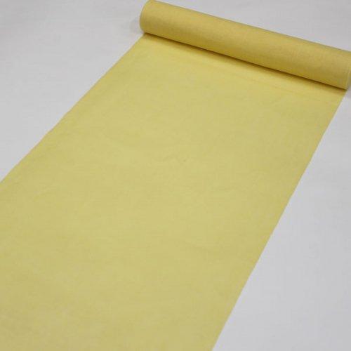 きくちいまオリジナル本麻長襦袢『彩加』<BR>黄色