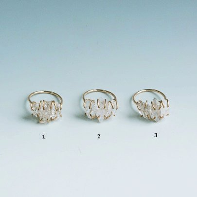 Harkimer diamond Ring  #11