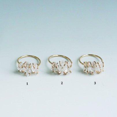 Harkimer diamond ring  #13