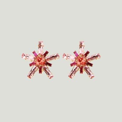 Stella Earrings <HOP PINK>