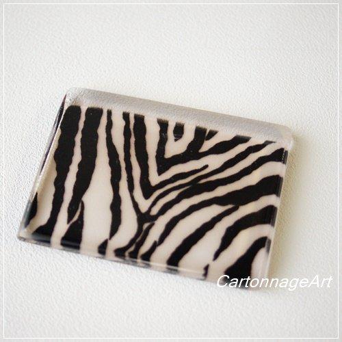 【カルトナージュ用平面へら】CA-PAVE(パヴェ)Zebra