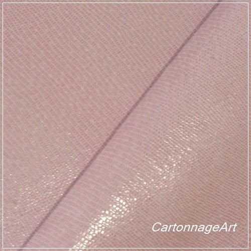 カルトナージュ用 pigトカゲ型押し: PastelPink