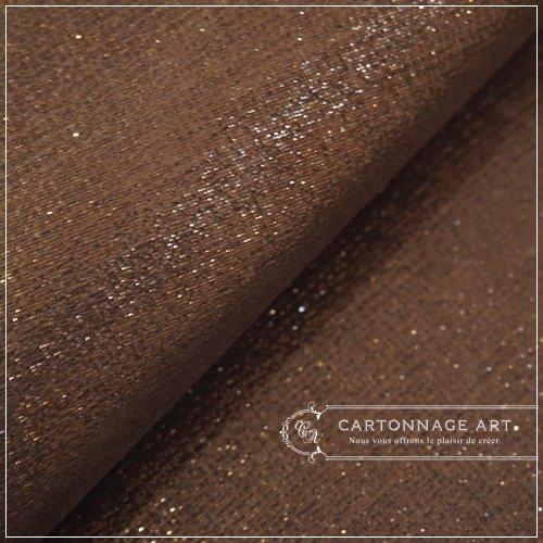 Thinage Leather エレガントラメブラウンゴールド�