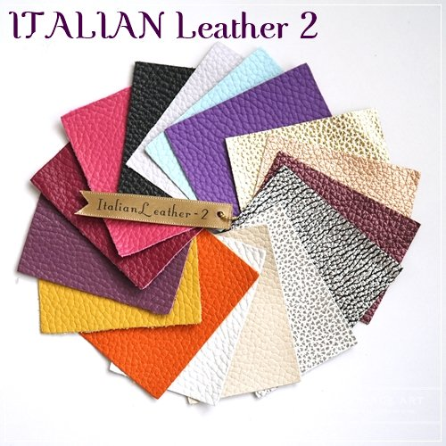 ThinageLeather color sample <ITALIAN Leather?>