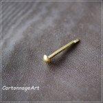 割ピン真鍮Gold(小) 10ケ入り