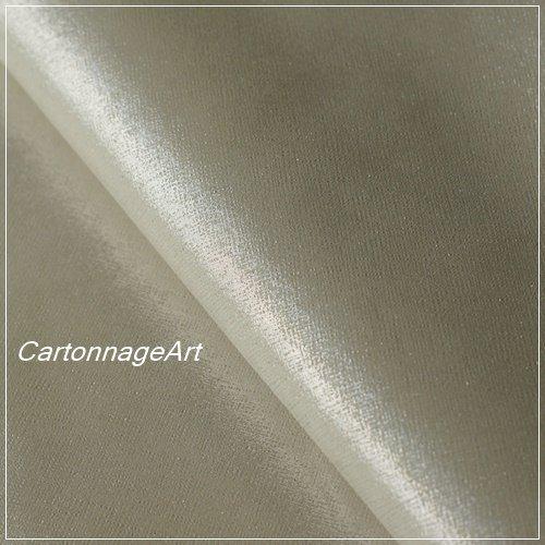 Thinage Leather エレガントラメ ブライトシルバー