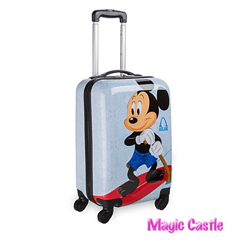 ミッキー&ミニー スーツケース Mickey and Minnie Mouse Rolling Luggage - 20'' - Aulani, A Disney Resort & S…