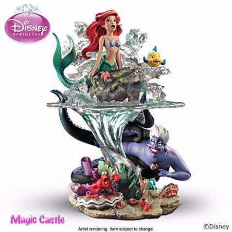 """【限定】 ディズニー リトル・マーメイド スカルプチャー Disney The Little Mermaid """"Part Of Her World"""" Sculptu…"""