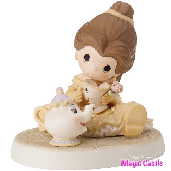 【お名入れOK!】ディズニー プレシャス・モーメンツ 美女と野獣 ベル''You Are So Tea-Lightful ''