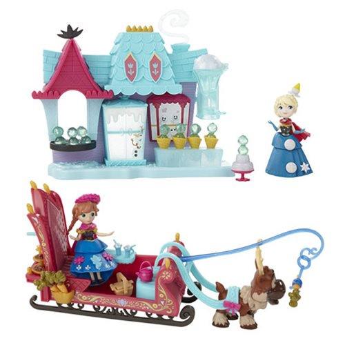 ハスブロ ディズニー アナと雪の女王 スモールドールプレイセット1 Frozen Small Doll Playsets1