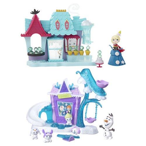 ハスブロ ディズニー アナと雪の女王 スモールドールプレイセット2 Frozen Small Doll Playsets2
