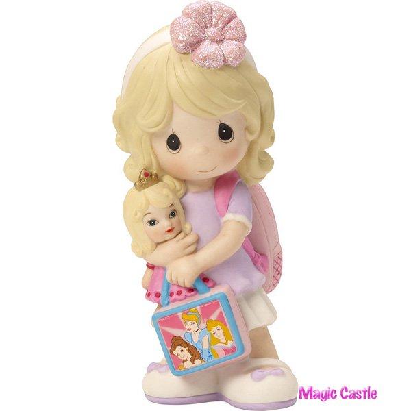 ディズニー プレシャス・モーメンツ  マイ・プリンセス オーロラ姫 Girl with Princess Backpack - You're My Little Prince…