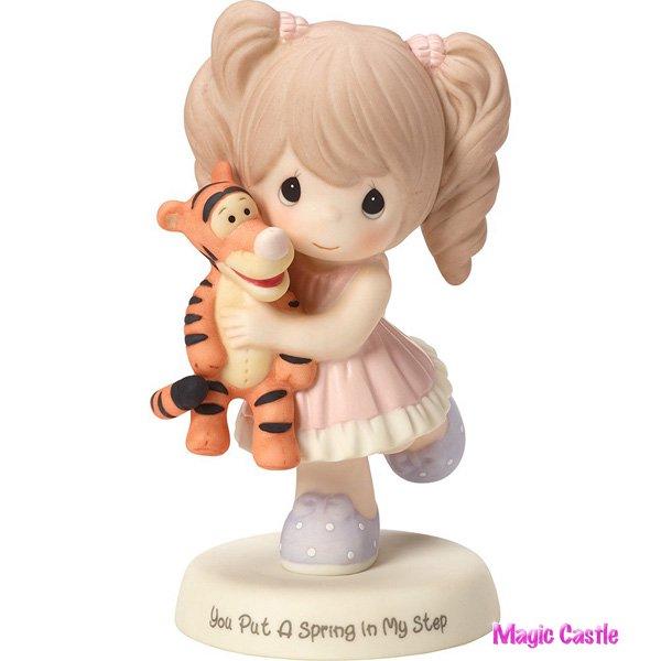 プレシャス・モーメンツ くまのプーさん ティガーといっしょ Girl Holding Tigger Doll - You Put a Shine in My St…