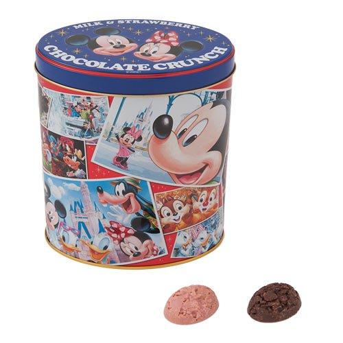 東京ディズニーリゾート チョコレートクランチ(ミルク&ストロベリー)24個(ミルク 12個、ストロベリー 12個)