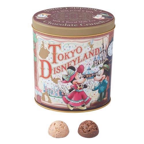 東京ディズニーリゾート チョコレートクランチ 24個(ミルク 12個、ロイヤルミルクティー味 12個)