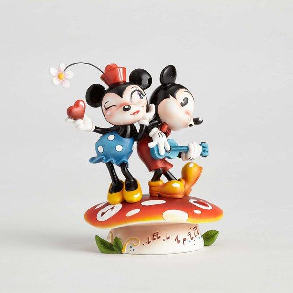 """ディズニー ミス・ミンディ The World of Miss Mindyフィギュア """" Mickey and Minnie Mousel""""  ミッキー&ミ…"""