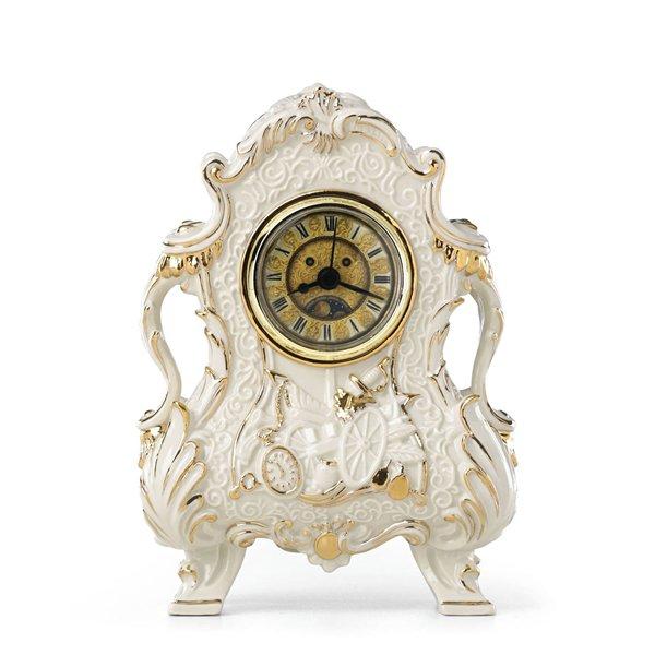 """ディズニー レノックス Lenox 美女と野獣 コグスワース 置き時計 ''Cogsworth Clock"""""""