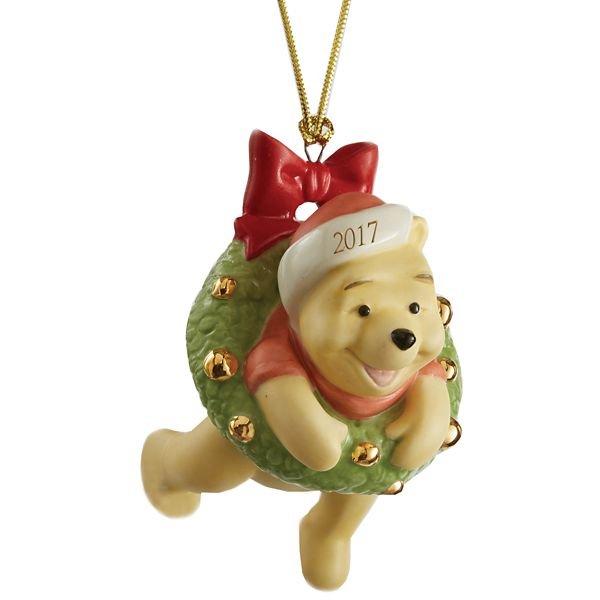 ディズニー くまのプーさん オーナメント 2017 Disney Hanging Around with Pooh Ornament by Lenox