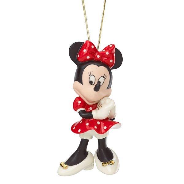 ディズニー ミニーマウス オーナメント Disney Minnie's Polka Dot Dress Ornament by Lenox