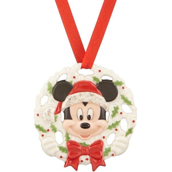 ディズニー ミッキーマウス  ピアースド オーナメント Disney's Pierced Mickey Ornament by Lenox