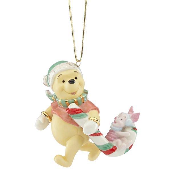 ディズニー くまのプーさん オーナメント Winnie the Pooh Candy Cane Surprise Ornament by Lenox
