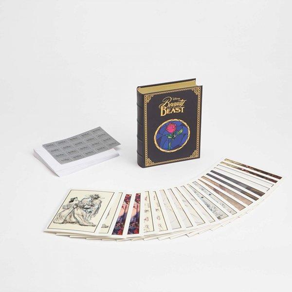 ディズニー アーカイブスコレクション 美女と野獣 カードセットBeauty and the Beast Notecard