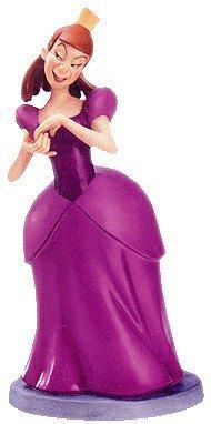 ディズニー シンデレラ  ひどいアナスターシャ Cinderella Anastasia Awful Anastasia