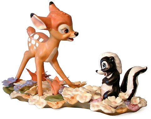 【廃盤】 ディズニー バンビとフラワー  Bambi & Flower He Can Call Me A Flower