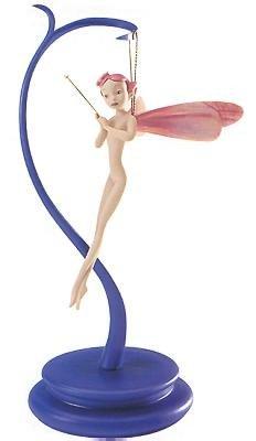 【廃盤】ファンタジア しずくの精 ピンク Fantasia Dew Drop Fairy Pretty In Pink (includes stand)