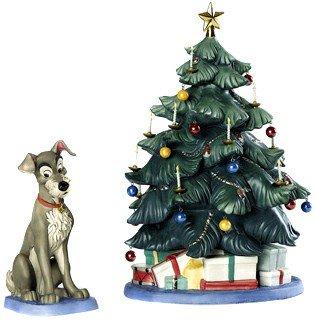 【廃盤】わんわん物語 クリスマスツリー Lady and The Tramp Tramp and Tree At Home for Christmas