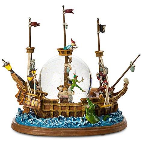 ディズニー スノーグローブ|スノードーム ''Jolly Roger Ship Peter Pan''ピーターパン