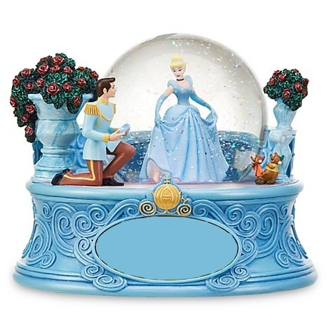 """ディズニー スノーグローブ """"Cinderella & Prince"""" シンデレラとプリンス"""