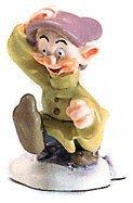 ディズニー 白雪姫 ドーピー(おとぼけ) ミニチュア Snow White Dopey Miniature