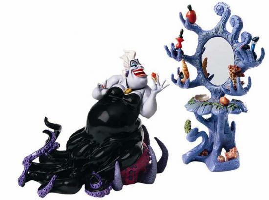 リトル・マーメイド The Lilltle Mermaid アースラと鏡 The Little Mermaid Ursula Devilish Diva