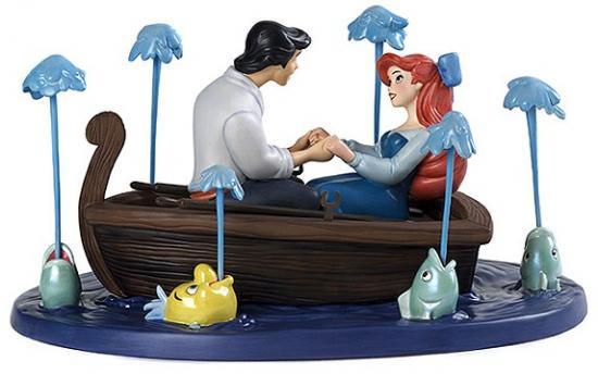 リトル・マーメイド The Lilltle Mermaid エリック王子とアリエル  Eric and Ariel Kiss the Girl
