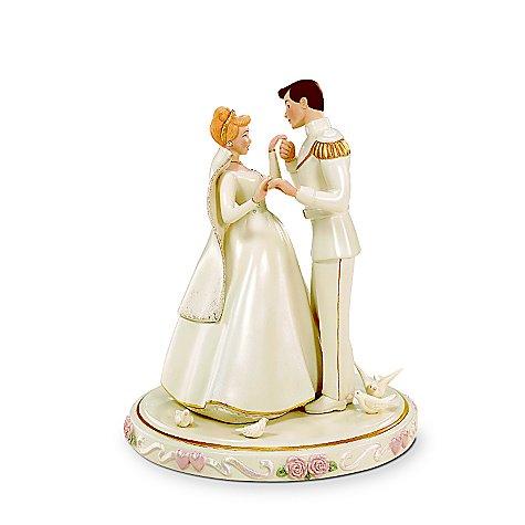 ディズニー シンデレラ ウェディング・ケーキトッパー Cinderella's Wedding Day Cake Topper by Lenox