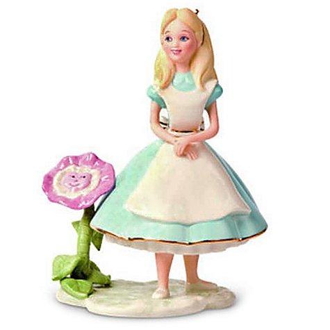 ディズニー 不思議の国のアリス アリス Alice In Wonderland Figurine by Lenox