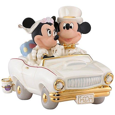 ミッキー&ミニー ハネムーン Minnies Dream Honeymoon Mickey and Minnie Mouse Figurine by Lenox