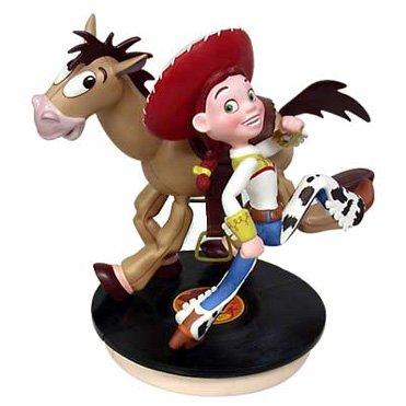 トイ・ストーリー ジェシーとブルズアイ Toy Story 2 Jessie Bullseye Record Player Base and Scoll